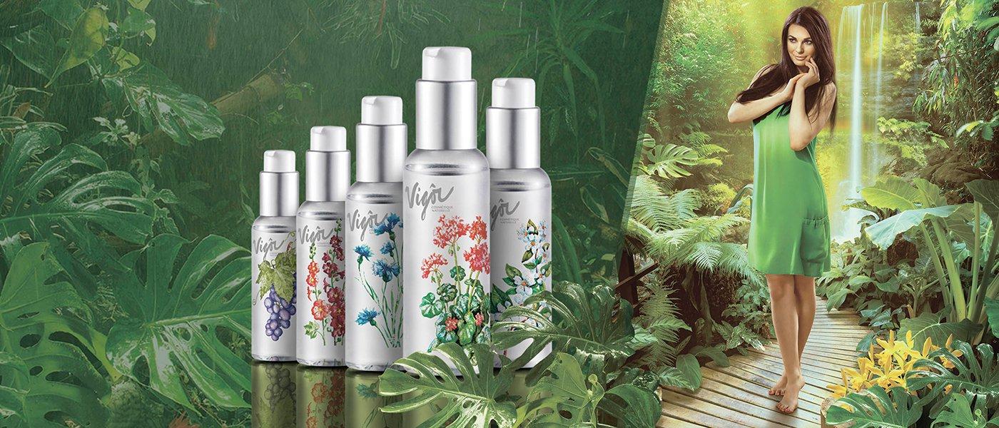 Натуральная косметика Vigor: тоники, цветочные воды