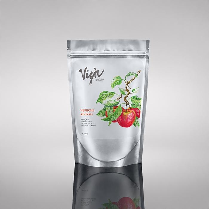 Активизирующая альгинатная маска «Красное яблоко»