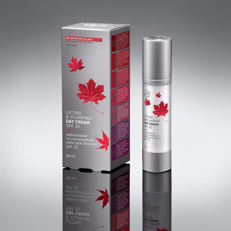 Лифтинговый и уплотняющий крем для лица, SPF20 «Северная Америка»
