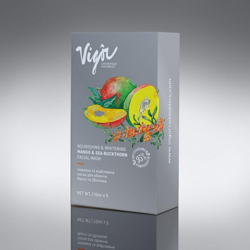 Питательная успокаивающая маска «Манго и облепиха» в соше