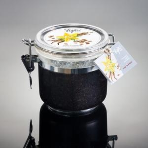 Солевой скраб для рук и тела «Кофе и Ваниль»